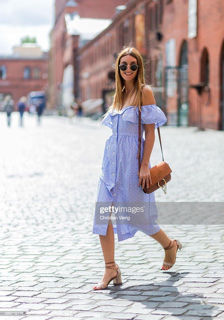 Street Style In Berlin - August, 2016 : Nieuwsfoto's