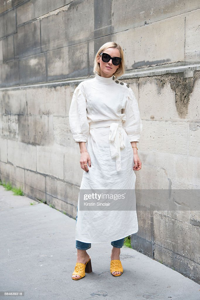 1443ad5c93 Street Style - Day 2 - Paris Fashion Week   Haute Couture A W 2016