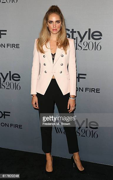 Fashion blogger Chiara Ferragni attends the 2nd Annual InStyle Awards at Getty Center on October 24 2016 in Los Angeles California
