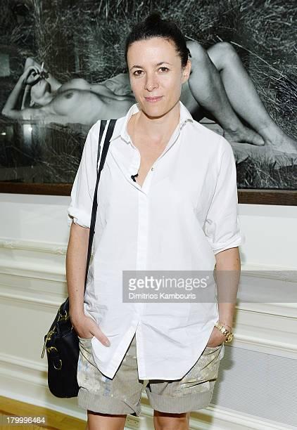 Fashion blogger Garance Dore attends the Peter Lindbergh Artist reception presented by Vladimir Restoin Roitfeldon September 7 2013 in New York City