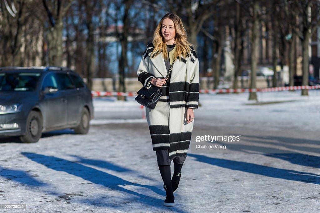 3df7701f0baea9 Street Style Day 1 - Mercedes-Benz Fashion Week Berlin Autumn Winter 2016