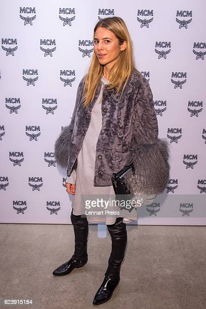 Fashion blogger Maja Wyh attends the MCM 40th Anniversary event on November 17 2016 in Munich Germany