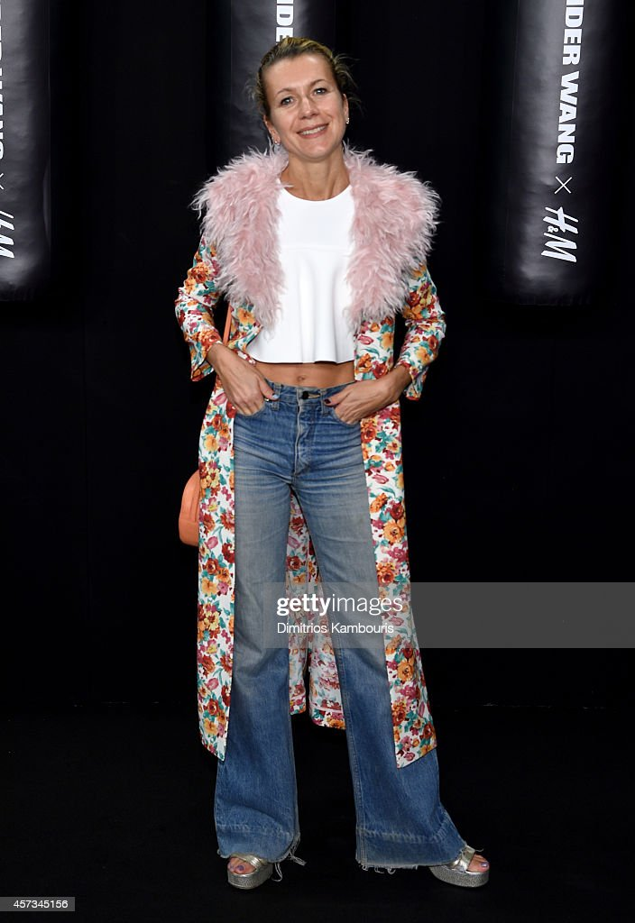 Fashion Blogger Natalie Joos attends the Alexander Wang X H&M Launch on October 16, 2014 in New York City.