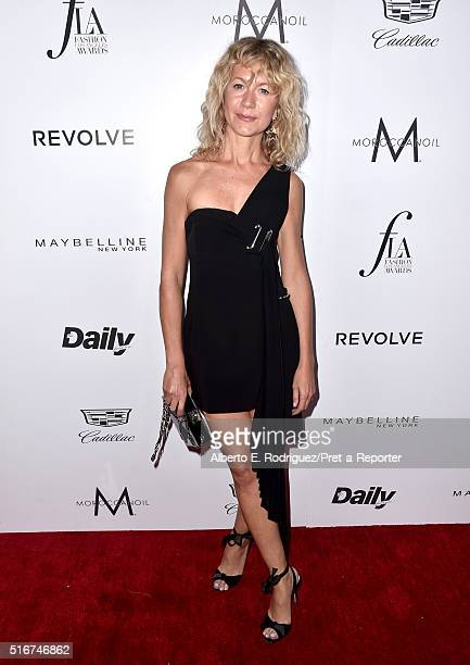 """Fashion blogger Natalie Joos attends the Daily Front Row """"Fashion Los Angeles Awards"""" at Sunset Tower Hotel on March 20, 2016 in West Hollywood,..."""