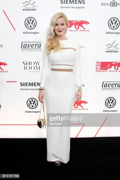 Fashion blogger Palina Kozyrava attends the New Faces Award Style 2017 at The Grand on November 15 2017 in Berlin Germany