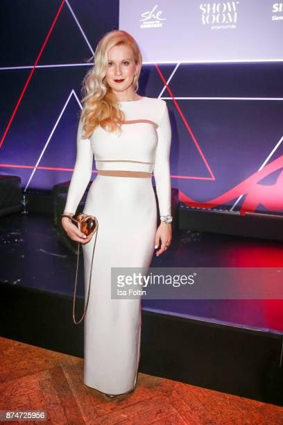 Fashion blogger Palina Kozyrava during the New Faces Award Style 2017 at The Grand on November 15 2017 in Berlin Germany
