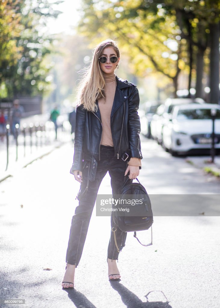 Street Style - Paris - October 2017 Photos and Images | Getty Images
