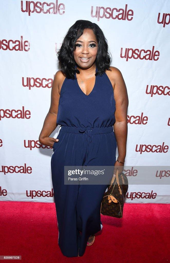 Fashion blogger Tammie Reed at Upscale Magazine's Brunch Style featuring Vivian Green on August 20, 2017 in Atlanta, Georgia.