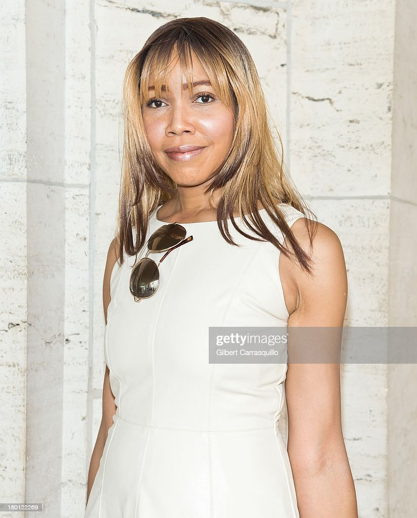 Fashion blogger Tia Walker attends 2014 Mercedes-Benz Fashion Week during day 4 on September 8, 2013 in New York City.