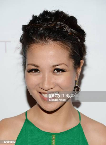 Fashion blogger Wendy Nguyen attends Club Tacori 2013 at Greystone Manor Supperclub on October 8 2013 in West Hollywood California