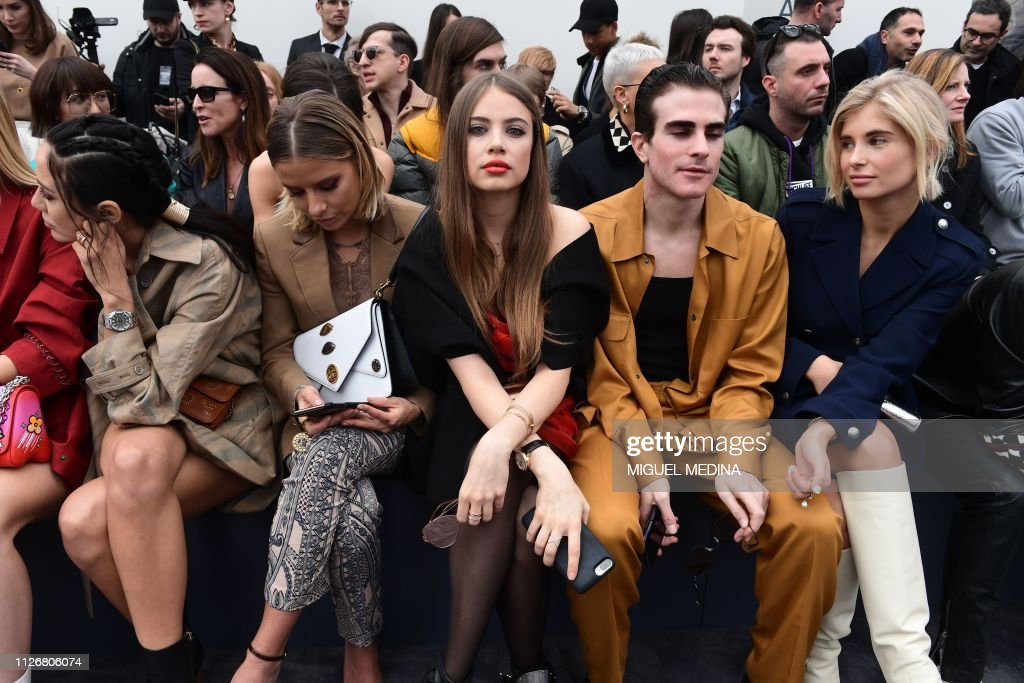 ITA: Roberto Cavalli - Front Row: Milan Fashion Week Autumn/Winter 2019/20