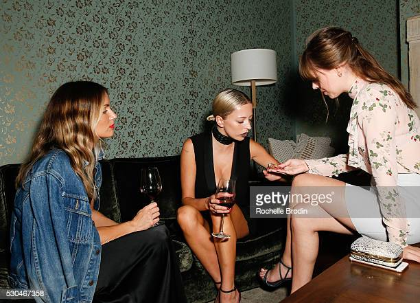 Fashion bloggers attend the Who What Wear Visionaries Launch at Ysabel on May 10 2016 in West Hollywood California