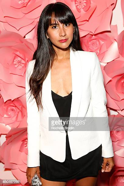 Fashion bloggers Natalie Alcala attends the Who What Wear Visionaries Launch at Ysabel on May 10 2016 in West Hollywood California