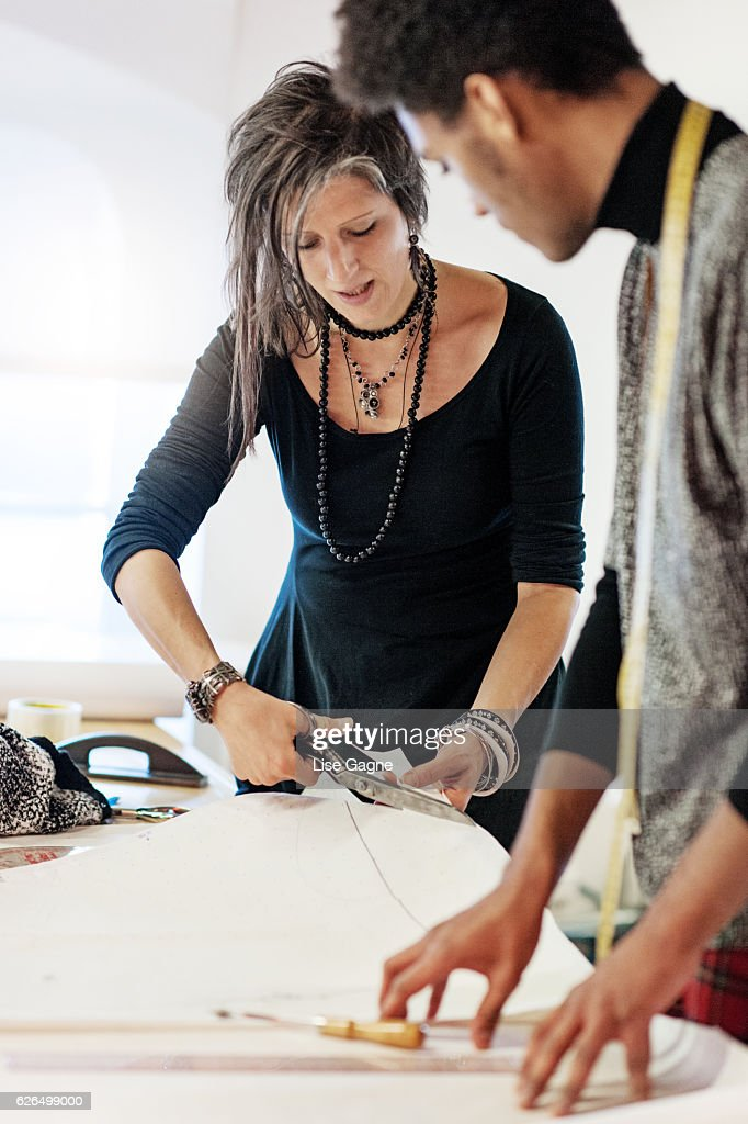 Fashion business training : Stock Photo