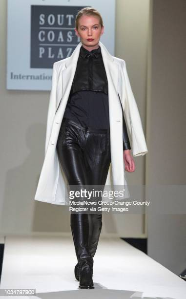 Fashion by Barbara Bui was featured during the Opening Night Fashion Show at South Coast Plaza The event was hosted by George Kotsiopoulos from E's...