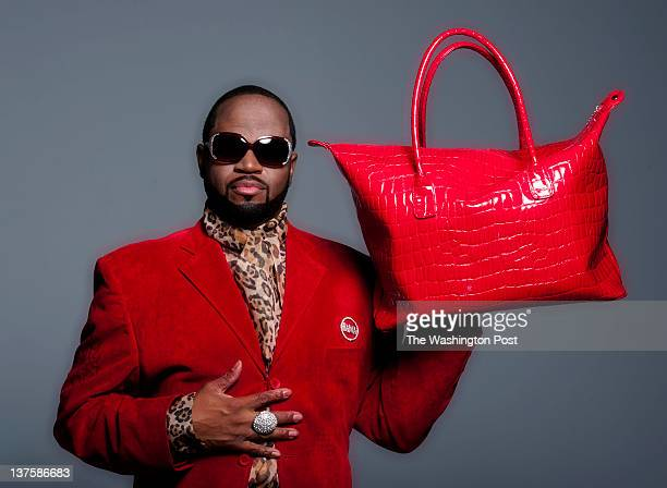 Fashion consultant Glynn Jackson uses The Big Bold and Bodacious Red theme for his fashions for the new 2012 trends going into Valentine's day...