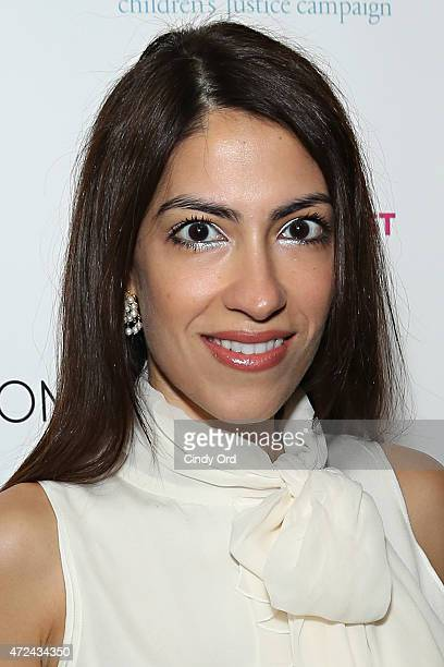 Fashion consultant Heba Abedin attends the 3rd Annual Moms Mogul Breakfast at Urbo NYC on May 7 2015 in New York City