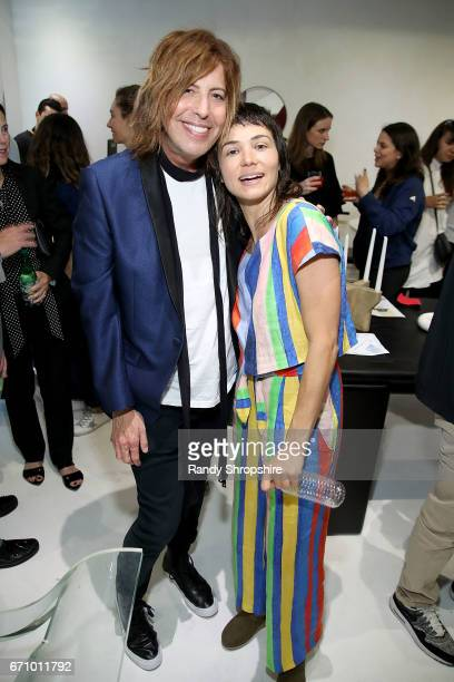 Fashion critic Steven Cojocaru and Carly Jo Morgan attend Not So General Presents 'Transmutation' an inaugural show and the debut of new Terrazzo...