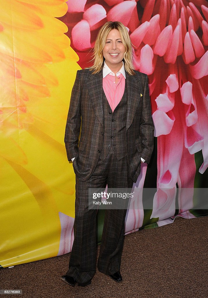 Fashion critic Steven Cojocaru attends the Spring 2009 Mercedes-Benz Fashion Week held at Smashbox Studios on October 14, 2008 in Culver City, California.