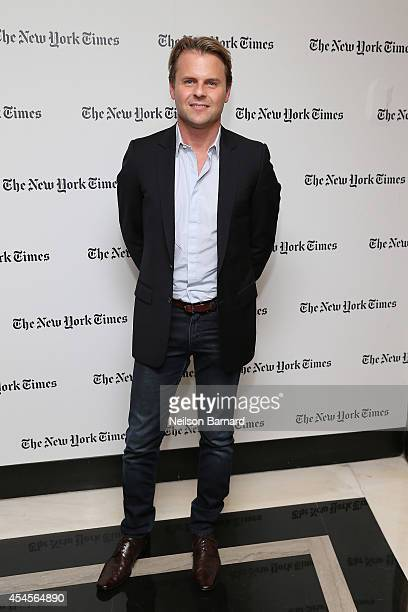 Fashion designer Adam Lippes attends the New York Times Vanessa Friedman and Alexandra Jacobs welcome party on September 3 2014 in New York City