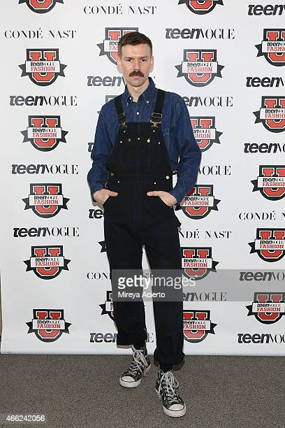 Fashion designer Adam Selman attends Teen Vogue's 10th Annual Fashion University at Conde Nast on March 14, 2015 in New York City.