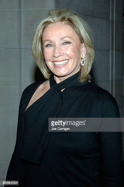 Fashion designer Adrienne Vittadini attends The Frick Collection Autumn dinner at The Frick Collection on October 20 2008 in New York City