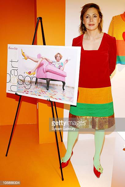 Fashion Designer Agatha Ruiz de la Prada during 'Chicken Soup for the Soul' Magazine Celebrate their February/March 2006 Issue at Agatha Ruiz de la...