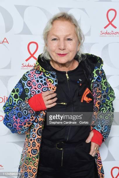 Fashion Designer Agnes Trouble attends the 17th Diner De La Mode as part of Paris Fashion Week on January 24 2019 in Paris France