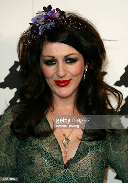 Fashion designer Alannah Hill arrives at the David Jones Autumn/Winter Collection launch show at Town Hall on February 13, 2007 in Sydney, Australia....