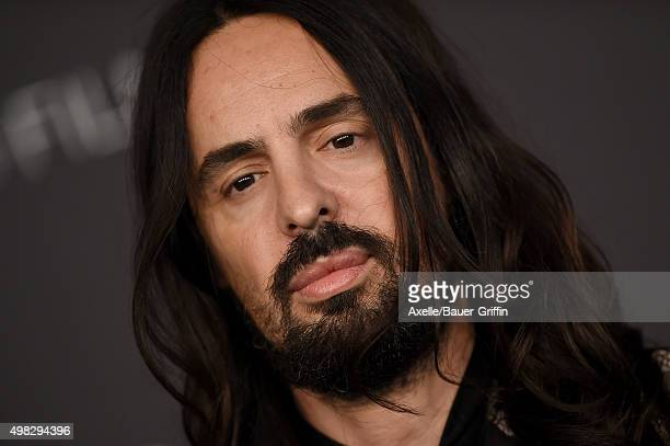 Fashion designer Alessandro Michele arrives at the LACMA 2015 ArtFilm Gala Honoring James Turrell And Alejandro G Inarritu Presented By Gucci at...