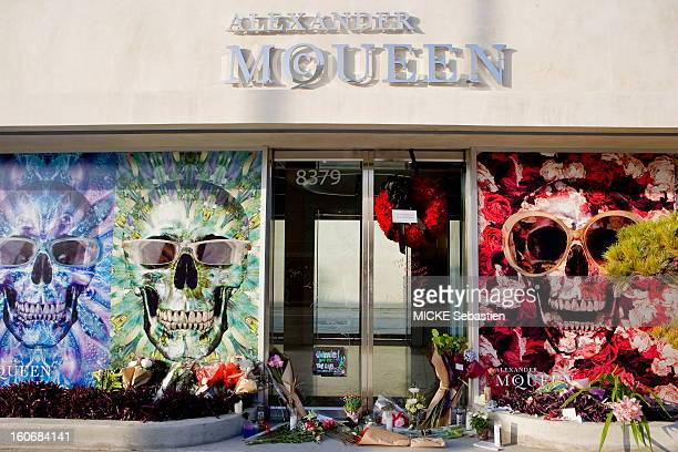 Fashion designer Alexander McQueen was found hanged at his death in London February 11 2010 Los Angeles has before the shop Alexander McQueen the...