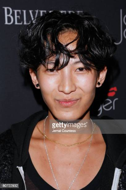 Fashion Designer Alexander Wang at the unveiling of the $250000 Belvedere Jagger Dagger at The Angel Orensanz Foundation on April 16 2009 in New York...