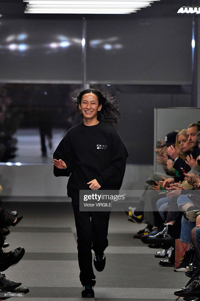 Fashion designer Alexander Wang walks the runway at Alexander Wang Ready to Wear Fall/Winter 2018-2019 Fashion Show during New York Fashion Week on February 10, 2018 in New York City.