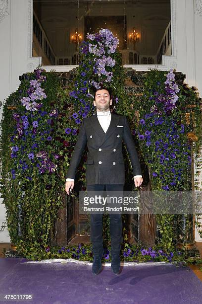 Fashion designer Alexis Mabille attends the Alexis Mabille show as part of the Paris Fashion Week Womenswear Fall/Winter 2014-2015. Held at Hotel...