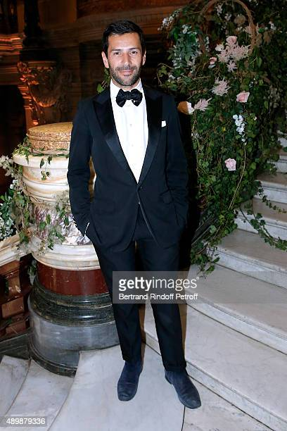 Fashion Designer Alexis Mabille attends the Ballet National de Paris Opening Season Gala at Opera Garnier on September 24 2015 in Paris France