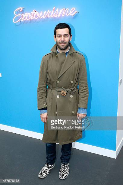 Fashion Designer Alexis Mabille attends the FIAC 2014 International Contemporary Art Fair Official Opening at Le Grand Palais on October 22 2014 in...