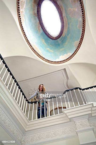 Fashion designer Alice Temperley is photographed for Tatler magazine on June 17 2014 in London England