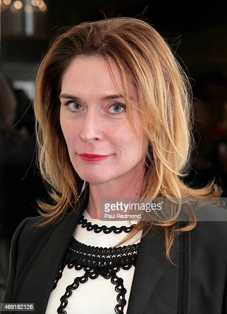 Fashion designer Amber Sakai attends 'Gods Kings The Rise And Fall Of Alexander McQueen And John Galliano' book launch party at Decades on April 9...