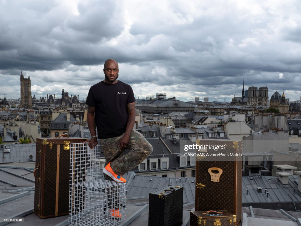 Virgil Abloh, Paris Match Issue 3607, July 4, 2018