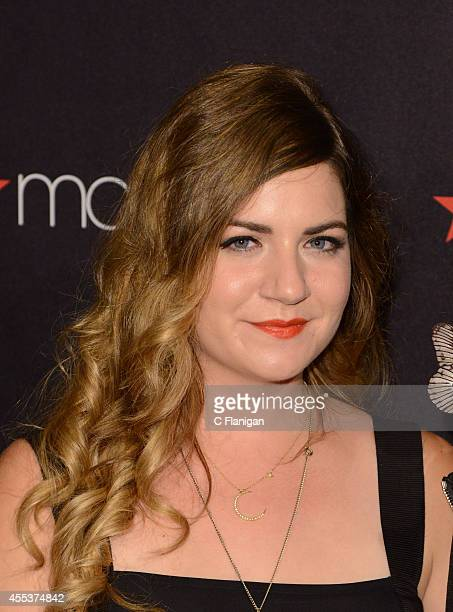 Fashion Designer and Founder of Honey Cooler Handmade Lingerie Stephanie Bodnar attends the 2014 Macy's Passport Glamorama Fashion Rocks show at The...