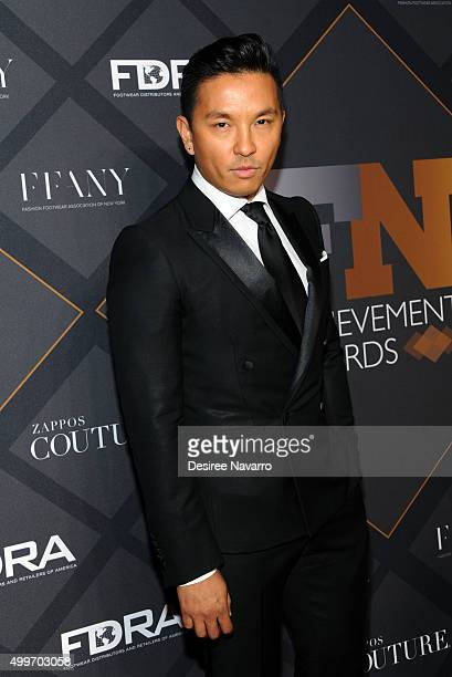 Fashion designer and Icon Award for Social Impact, Prabal Gurung attends the 29th FN Achievement Awards at IAC Headquarters on December 2, 2015 in...