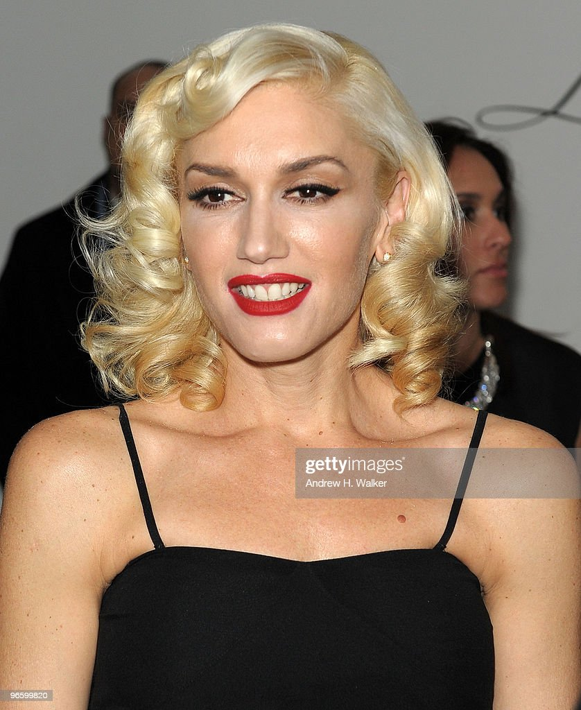 Fashion designer and singer Gwen Stefani attends the L.A.M.B. reception at Milk Studios on February 11, 2010 in New York City.