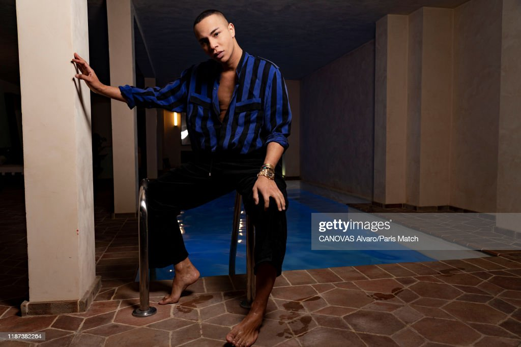 Olivier Rousteing, Paris Match Issue 3682, December 4, 2019 : News Photo