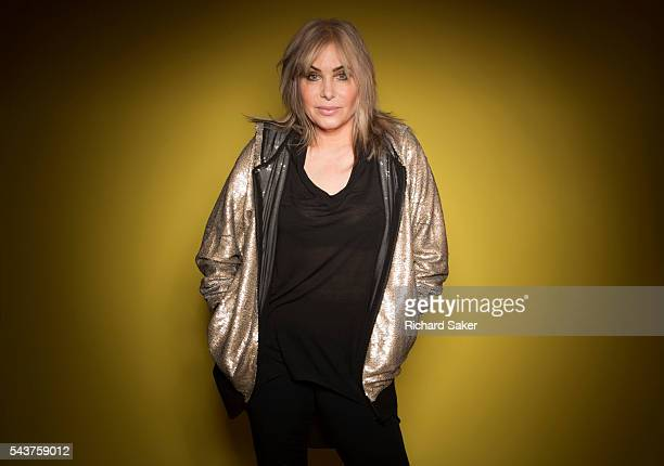 Fashion designer and tv presenter Brix Smith Start is photographed for the Observer on April 26 2016 in London England