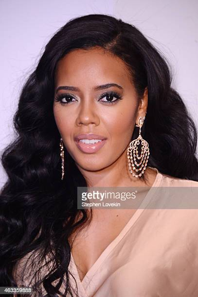 Fashion designer Angela Simmons attends Russell Simmons' Rush Philanthropic Arts Foundation's annual Rush HeARTS Education Valentine's Luncheon at...