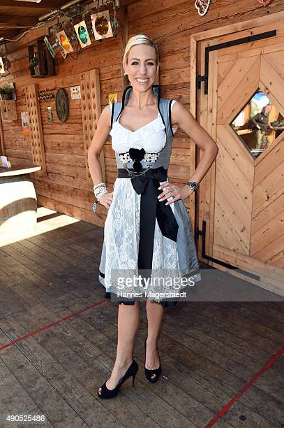 Fashion designer Anja Nina Wuerttemberger attends the Ladies Lunch at Fisch Baeda during the Oktoberfest 2015 at Theresienwiese on September 29 2015...