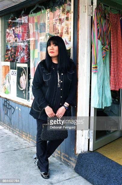 Fashion designer Anna Sui poses for a portrait in 1996 in New York City New York