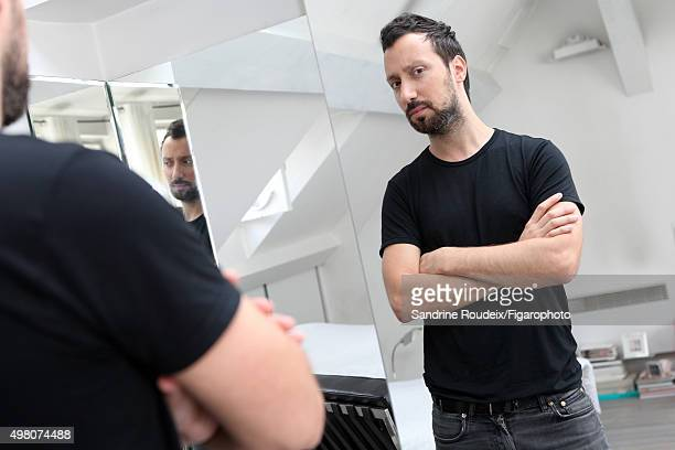 Fashion designer Anthony Vaccarello is photographed for Madame Figaro on July 29 2015 in Paris France CREDIT MUST READ Sandrine...