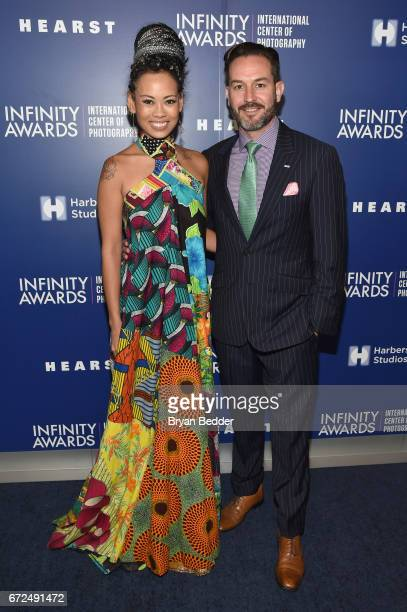 Fashion Designer Anya AyoungChee and Wyatt Gallery of For Freedoms attend The International Center of Photography's 33rd Annual Infinity Awards at...