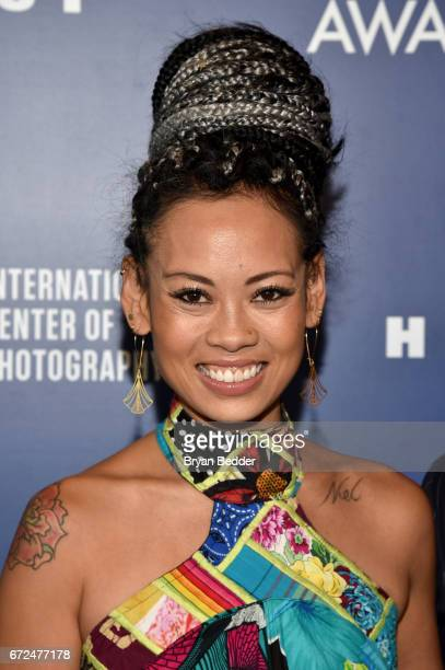 Fashion Designer Anya AyoungChee attends The International Center of Photography's 33rd Annual Infinity Awards at Pier 60 on April 24 2017 in New...